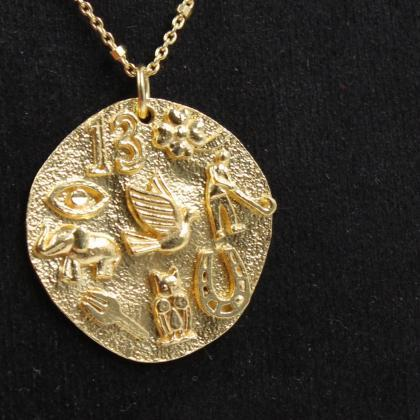 Good Luck Charms Pendant Necklace,S..