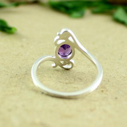 Amethyst Ring,Token of Appreciation..